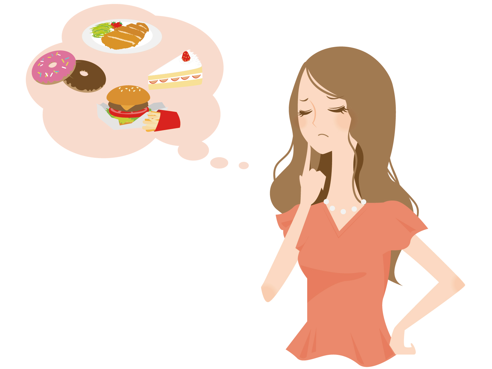ダイエットの女性