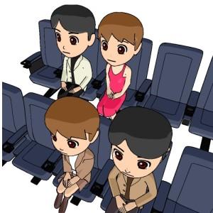 映画を観る