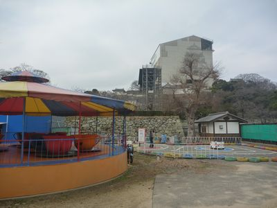 姫路城大天守閣がこんな近くに