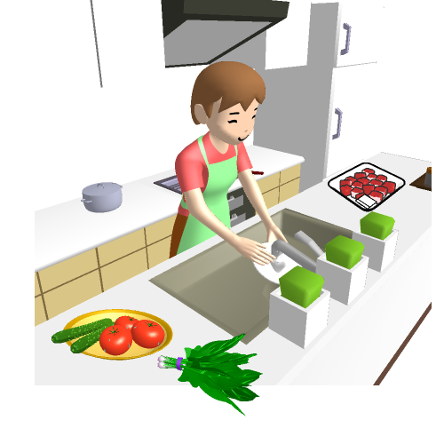 食事を作る