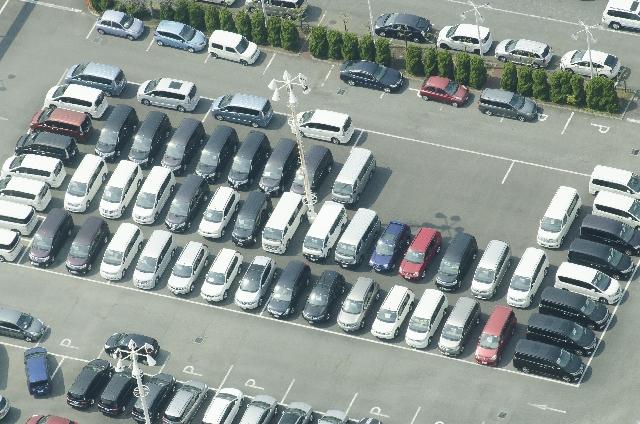 姫路城周辺の駐車場