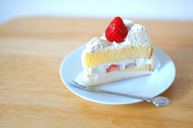 おいしそうなケーキの写真