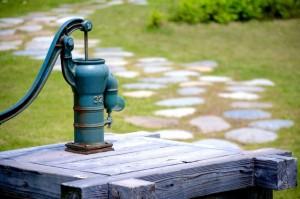 井戸水か水道水か