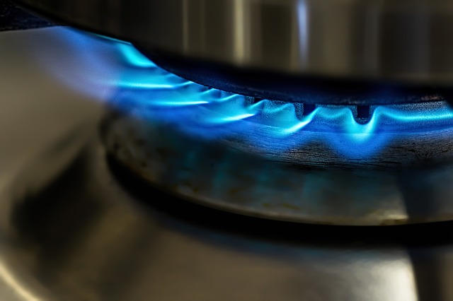エコジョーズ ガスの炎