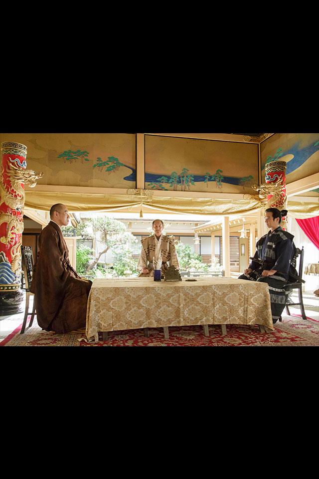 北条、真田、徳川で磐田城についての話し合い