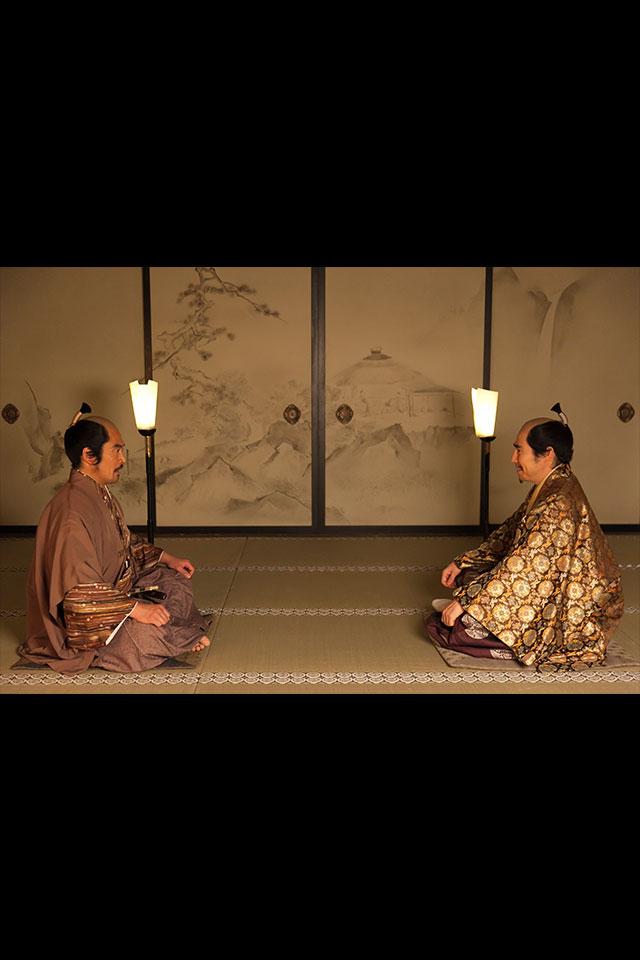 北条と話を付ける徳川家康