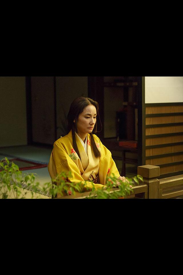 京に行く源三郎には付いていけないと言う妻、稲姫