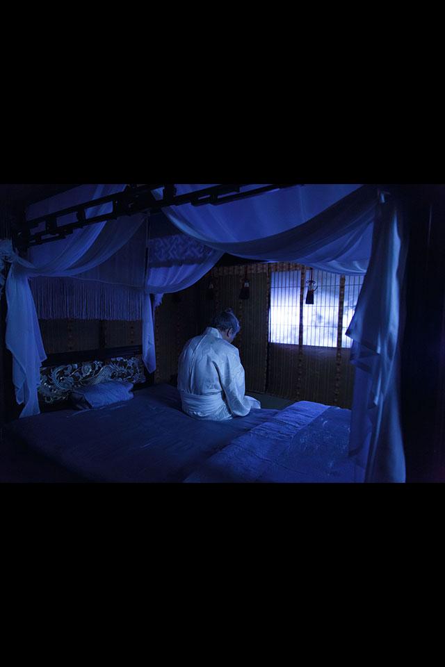 寝小便をしてしまった太閤殿下