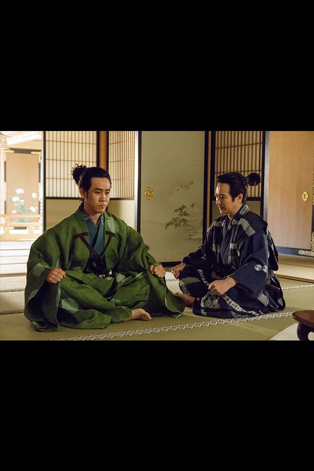 源三郎と源次郎の話し合い